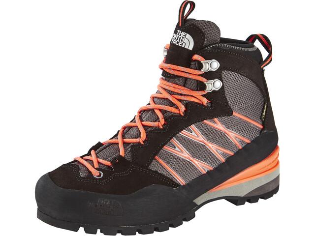 The North Face Verto S3K GTX Shoes Damen q-silver grey/radiant orange